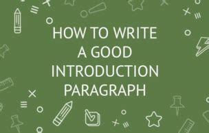 Examples of Great Introductory Paragraphs - ThoughtCo